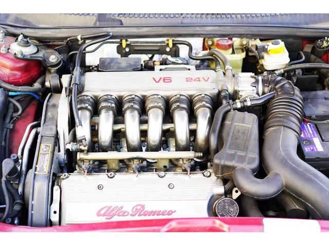 珠玉のV6エンジンは今尚健在です!