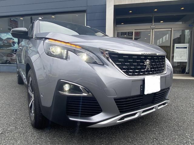 GTライン ブルーHDi アイドリングストップ スマートキー 新車保証付 パワーシート サンルーフ(2枚目)