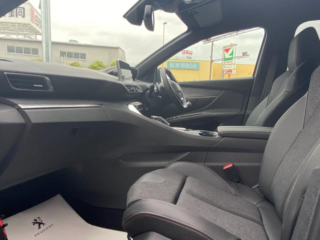 GTライン ブルーHDi アイドリングストップ スマートキー 新車保証付 パワーシート サンルーフ(10枚目)
