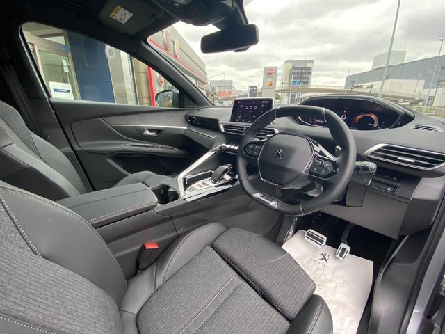 GTライン ブルーHDi アイドリングストップ スマートキー 新車保証付 パワーシート サンルーフ(13枚目)