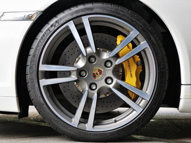 911ターボS ベージュ革 ターボII スポクロP PCCB(11枚目)
