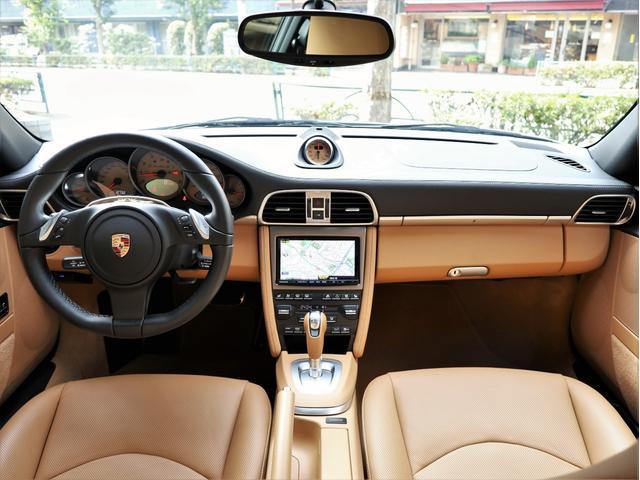 911ターボS ベージュ革 ターボII スポクロP PCCB(12枚目)