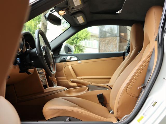 911ターボS ベージュ革 ターボII スポクロP PCCB(13枚目)