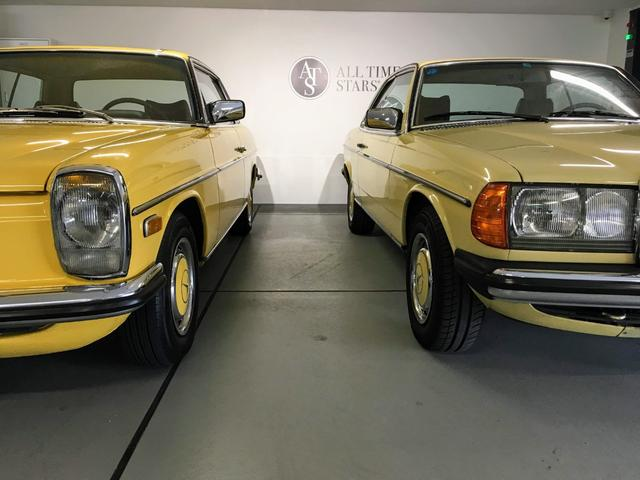 過去ストックW114クーペ&W123クーペ