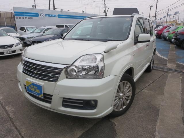 日産 2.0 アクシス 4WD ワンオーナ本革シートDSCシートヒ