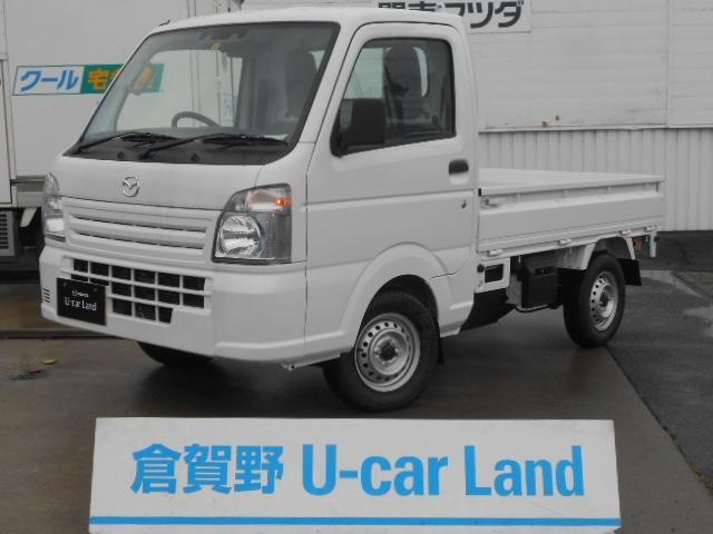 マツダ スクラムトラック 660 KC エアコン・パワステ 4WD AT誤発進抑制・Hホールド