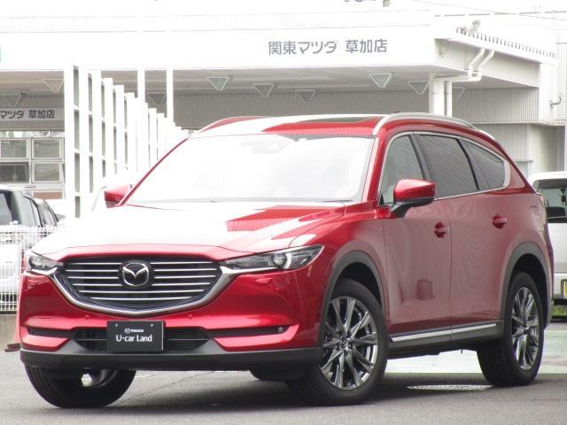マツダ CX-8 2.2 XD エクスクルーシブ モード 4WD サンルーフ 試乗車
