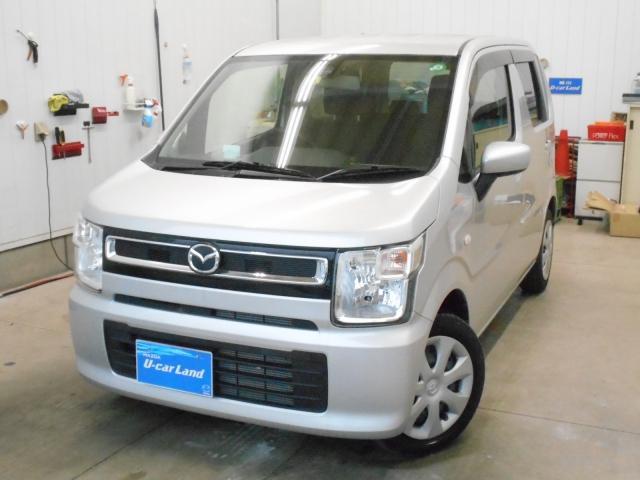 マツダ ハイブリッド XG セーフティPKG 2WD ワンオーナー Mナビ