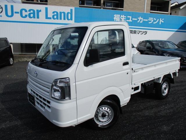 マツダ スクラムトラック 660 KC エアコン・パワステ 4WD ラジオ付き