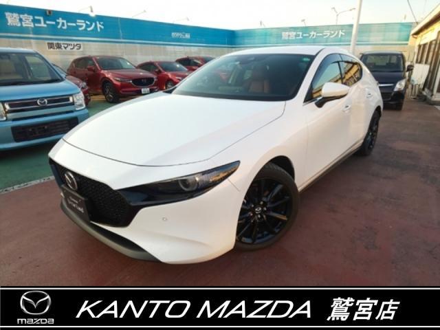 マツダ MAZDA3ファストバック X バーガンディ セレクション 4WD ワンオーナー BOSE