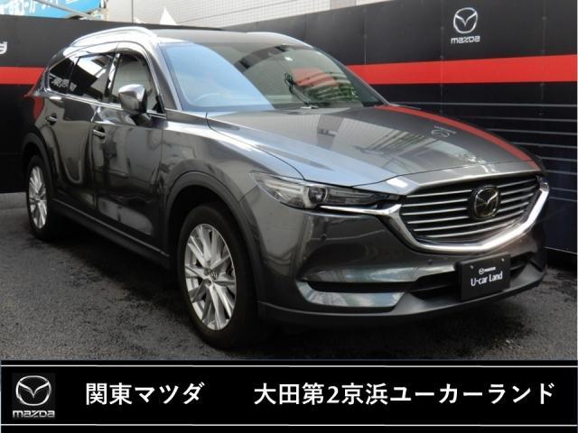 マツダ CX-8 XD L-pkg 本革シート 6人乗り マツコネ 360度モニター
