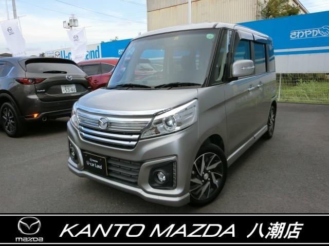 マツダ カスタムスタイルXS 4WD 電動ドア ドラレコ ワンオーナー