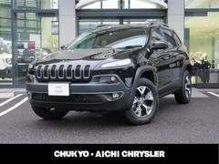 クライスラージープ チェロキートレイルホーク 新車保証継承 4WD