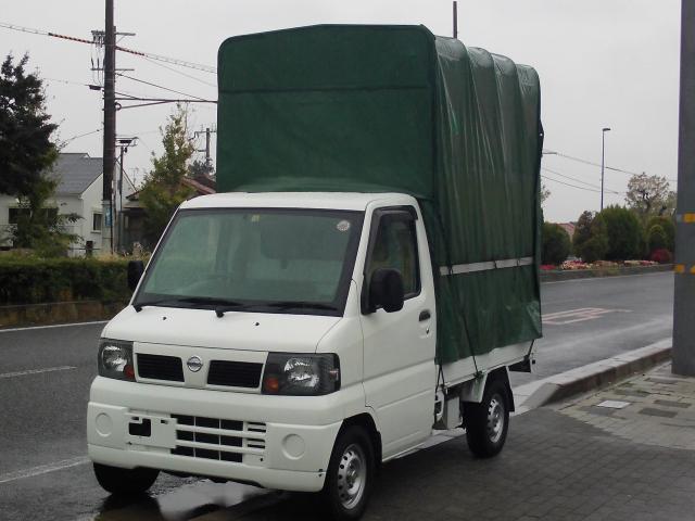 日産 4WD 幌 ホロ 5速 軽貨物 荷室高213cm