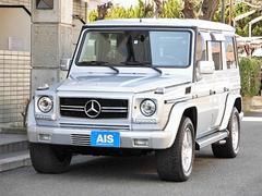 M・ベンツG55ロング AMG ナビTV 黒革 サンルーフ 点検記録簿