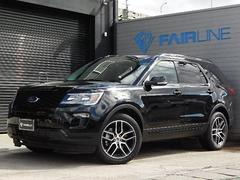 フォード エクスプローラースポーツ 4WD エコブースト 2018年モデル