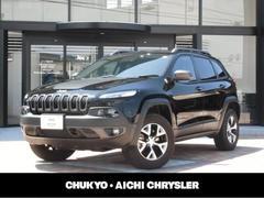 クライスラージープ チェロキートレイルホーク 4WD 新車保証継承 前面衝突警報