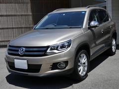 VW ティグアンTSIブルーモーションテクノロジー ワンオーナー 禁煙 保証