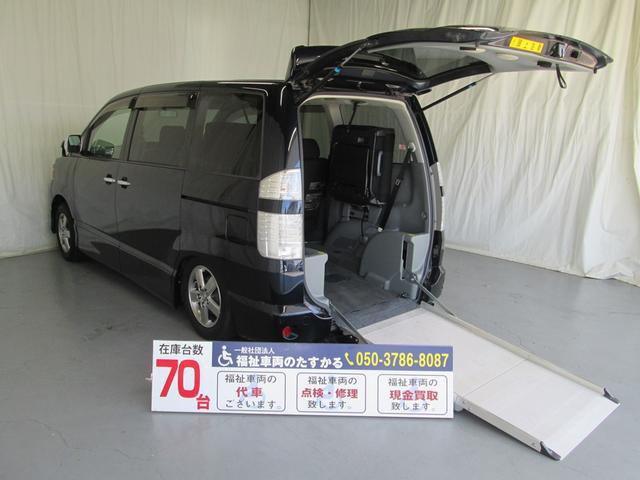 トヨタ スロープタイプ車椅子1基積7人乗り 全国対応1年間無料保証