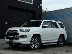 4ランナーリミテッド 4WD 2018年モデル サンルーフ 黒革