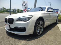 BMW750Li Mスポーツ SR 革 パワートランク エアシート