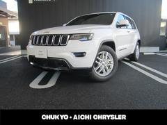 クライスラージープ グランドチェロキーリミテッド 弊社デモカー 新車保証継承 黒革シート