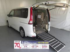 セレナスロープタイプ車椅子1基積8人乗り 全国対応1年間無料保証