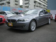 BMW523i ハイラインパッケージ  黒革 HDDナビ キセノン