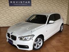BMW118dスポーツ・追突回避軽減システム・ナビ・バックカメラ