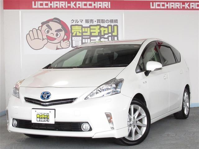 トヨタ Sツーリングセレクション 5人乗り HDDナビ・フルセグTV
