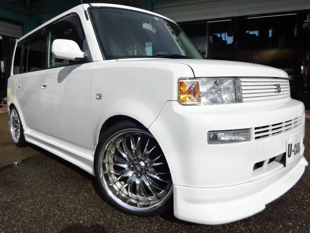 トヨタ ZXバージョン車高調18アルミ外エアロマフラー