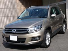 VW ティグアンTSIブルーモーションテクノロジー 2014年モデル 革内装