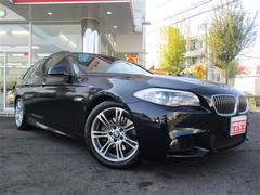 BMW523iツーリング Mスポーツ 純正ナビ フルセグ 黒革