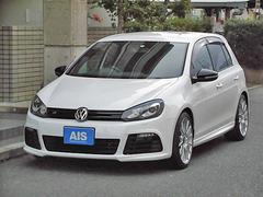 VW ゴルフR 純正ナビ TV 黒革 BBS18インチAW