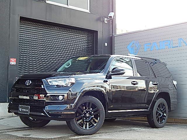米国トヨタ リミテッド 4WD NIGHT SHADE パワーステップ