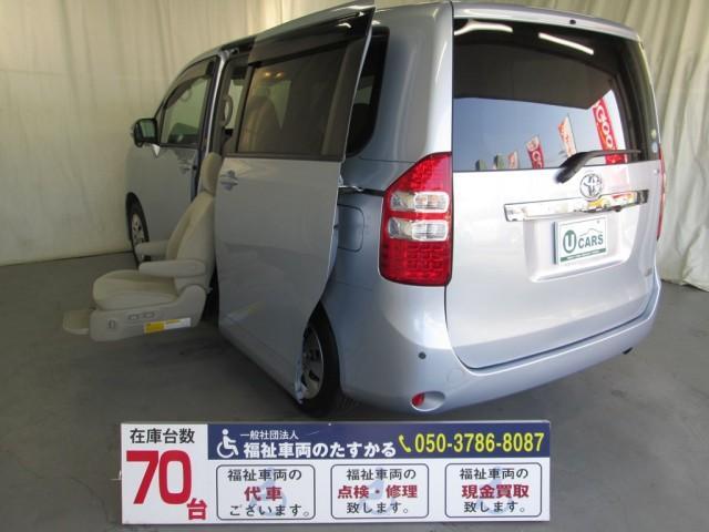 トヨタ サイドリフトアップシート7人乗り 全国1年無料保証 ナビTV