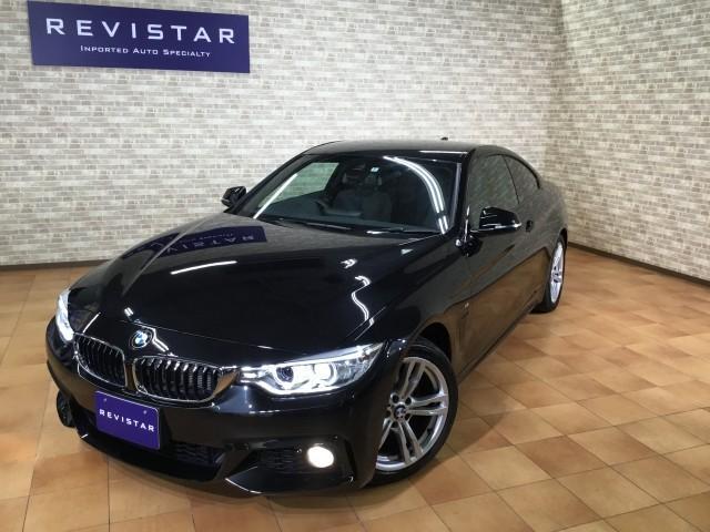 BMW 4シリーズ 420iクーペ Mスポーツ・追突回避軽減車・A...
