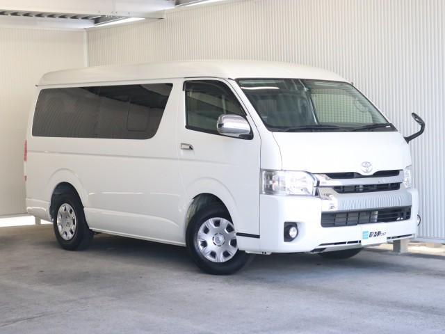 トヨタ 2.7 GL ロング ミドルルーフ SDナビ地デジ CD