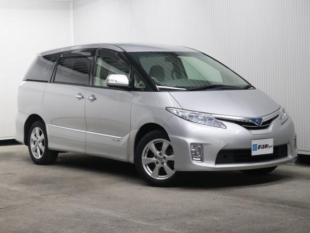 トヨタ 2.4 X 4WD 禁煙車 両側Pスラ ナビ フルセグ