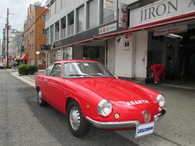 アバルト 850SCORPIONE S ALLEMANO ヴィンテージ