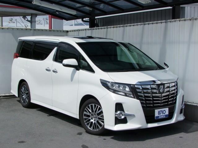トヨタ 2.5S Cパッケージ/黒革/SR/10インチフリップダウン