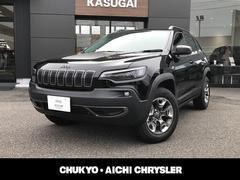クライスラージープ チェロキートレイルホーク 弊社デモカー 新車保証継承