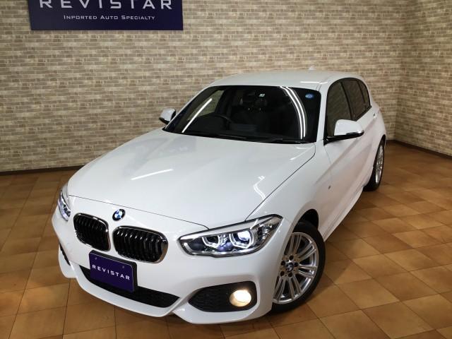 BMW 118i Mスポーツ・追突回避車・ナビ・コンフォートアクセス