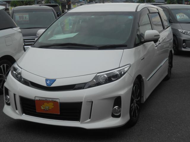 トヨタ アエラス 4WD 7人乗