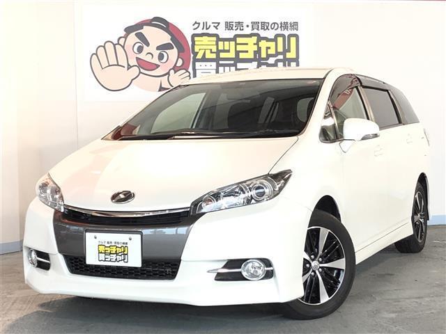 トヨタ 1.8S 7人乗り 社外メモリナビ・フルセグ・DVD-V