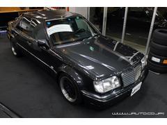 M・ベンツ500E 整備記録簿付 黒革内装 AMG仕様 新車並行