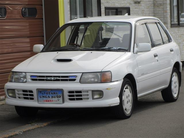 トヨタ スターレット ターボ 4WD タイベル交換済 CD ET...