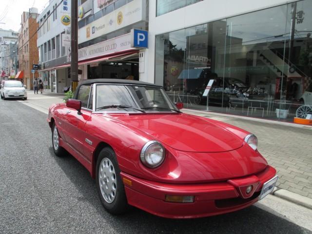 「アルファロメオ」「アルファスパイダー」「オープンカー」「大阪府」の中古車