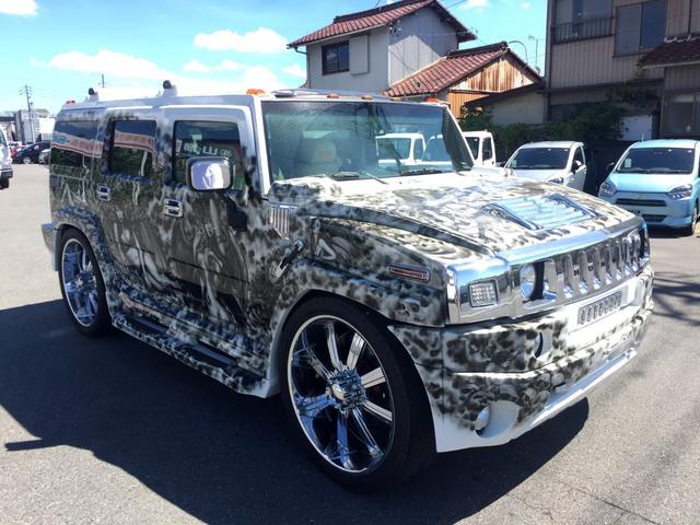 ハマー 4WD 内外装カスタム ミューラルペイント