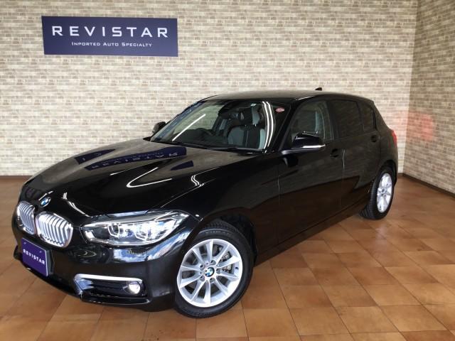 BMW 118d スタイル・メーカー保証付き・追突回避軽減車・ナビ